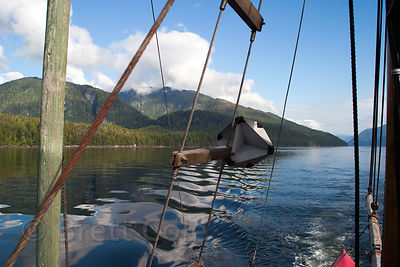 Fjords near Bella Bella in the Great Bear Rainforest, British Columbia
