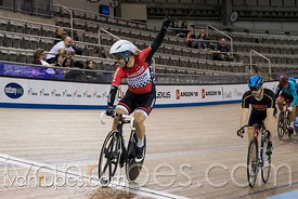 Master C/D Men Keirin 1-6 Final. Ontario Track Championships, March 4, 2018