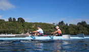 Taken during the World Masters Games - Rowing, Lake Karapiro, Cambridge, New Zealand; ©  Rob Bristow; Frame 1313 - Taken on: ...