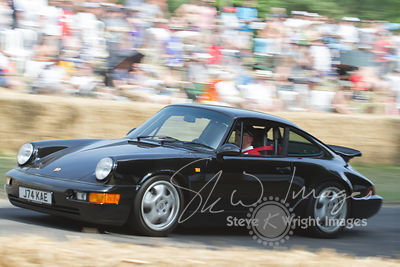 Porsche 911 Carrera RS (3.6-litre flat-6, 1989) - Celebrating 50 years of the Porsche 911 at Goodwood Festival of Speed 2013