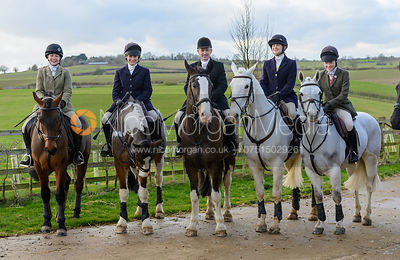 The Cottesmore Hunt at Stone Lodge 10/1