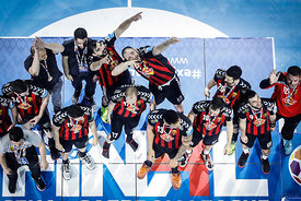 Champions during the Final Tournament - Final Four - SEHA - Gazprom league, Gold Medal Match Vardar - Telekom Veszprém, Belar...