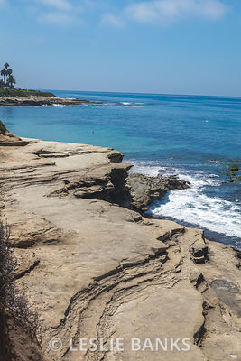 Rocky Cliffs in La Jolla, San Diego California
