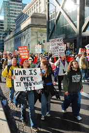 Protest against the continuation of the Iraq War