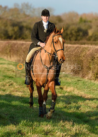 George Ward at Hose Thorns. The Belvoir Hunt at Highfield Farm 12/12