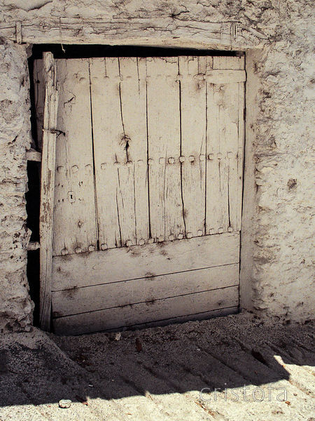 a door in an Alpujarras village