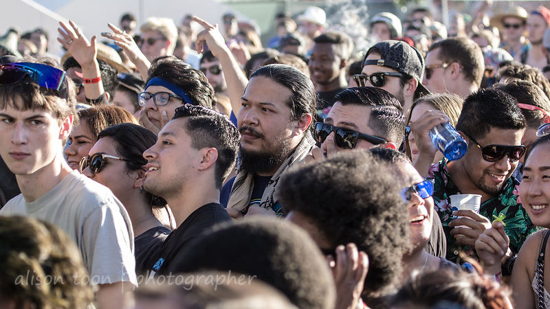 A face in the crowd, TBD Fest 2014