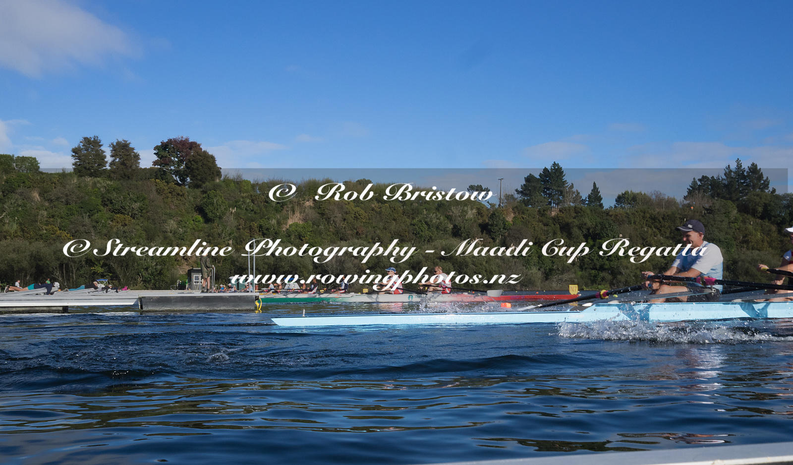 Taken during the World Masters Games - Rowing, Lake Karapiro, Cambridge, New Zealand; ©  Rob Bristow; Frame 1319 - Taken on: ...