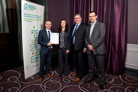 Grand Central Hotel, Glasgow.27.11.14.Zero Waste Scotland Certificate Award Winners.Free Use..Picture Copyright:.Iain McLean,...
