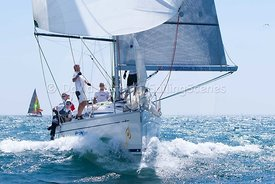 Firestarter, GBR 8560R, Bavaria 35 Match, 20130720157