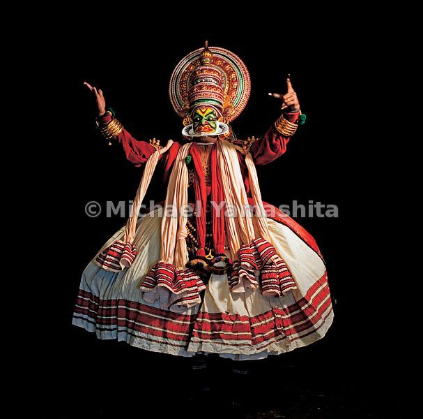 Some say that Beijing Opera, introduced to India by Zheng He, inspired the elaborate make-up of the Kathakali drama of Kerala.