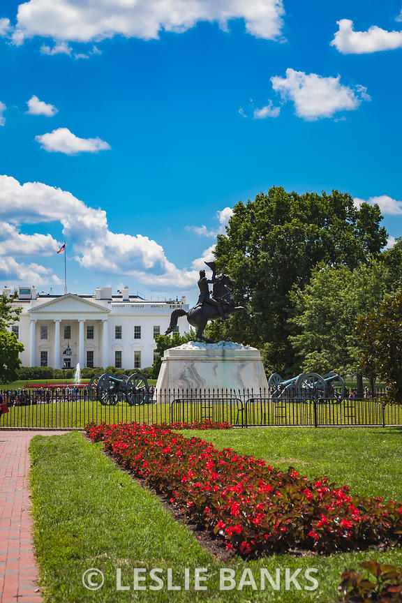 White House from Lafayette Square