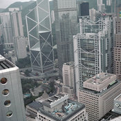 Hong Kong Office Buildings in Central District