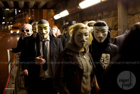 Anonymous - Million Mask March