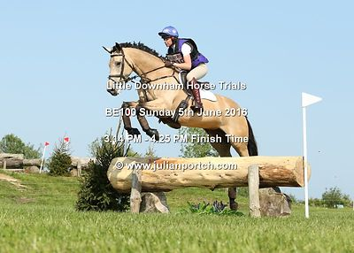 Little Downham Horse Trials - BE100 Sections (Sunday - 5th June 2016)
