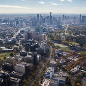 Melbourne From The South, Victoria
