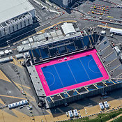 Aerial View Of The Riverbank Arena, London