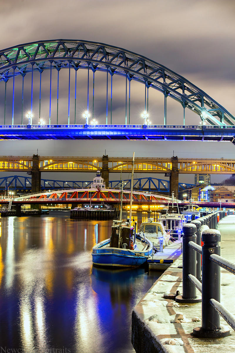 A view of the Tyne