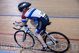 U17 Women Pursuit Final. 2016/2017 Track O-Cup #3/Eastern Track Challenge, Mattamy National Cycling Centre, Milton, On, Febru...