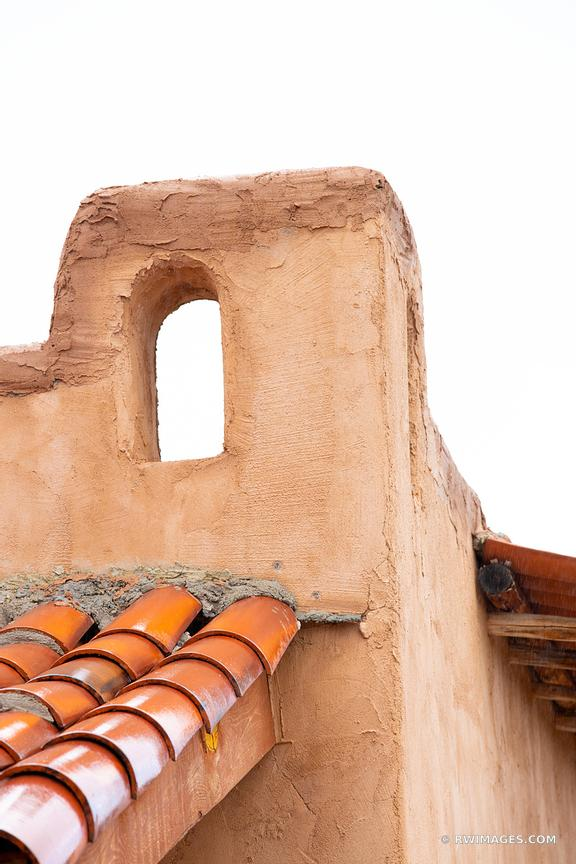 ADOBE ARCHITECTURE DETAIL NORTHERN NEW MEXICO COLOR VERTICAL