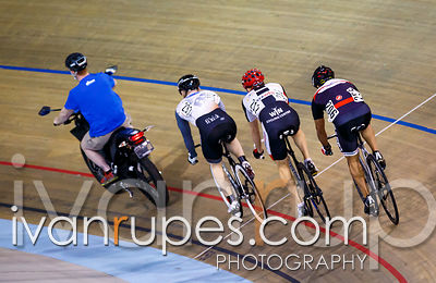 Master B Men Keirin Repechage, Ontario Track Championships Day 3, April 12, 2015