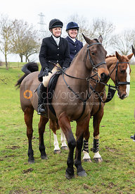 At the meet at Merrivale Farm 5/1