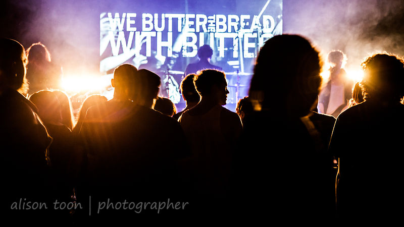 We Butter The Bread With Butter live Sacramento 2014