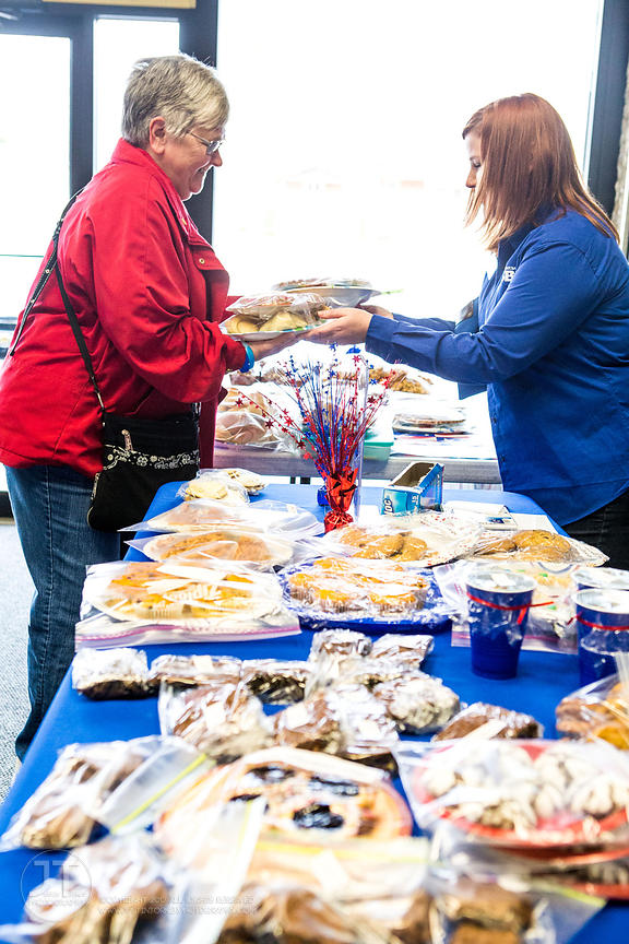 Wounded Warrior Project Bake Sale at FSB, November 8, 2013