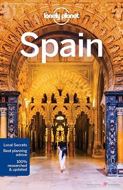 Cover Lonely Planet Spain 2016 guidebook