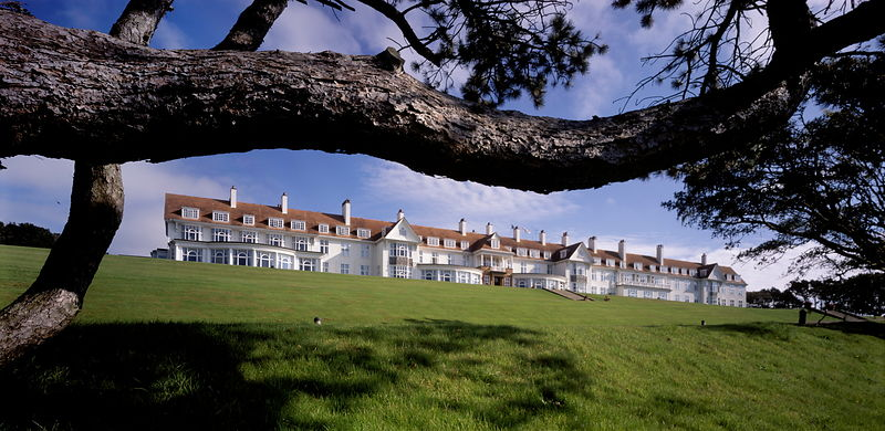 Turnberry golf course resort