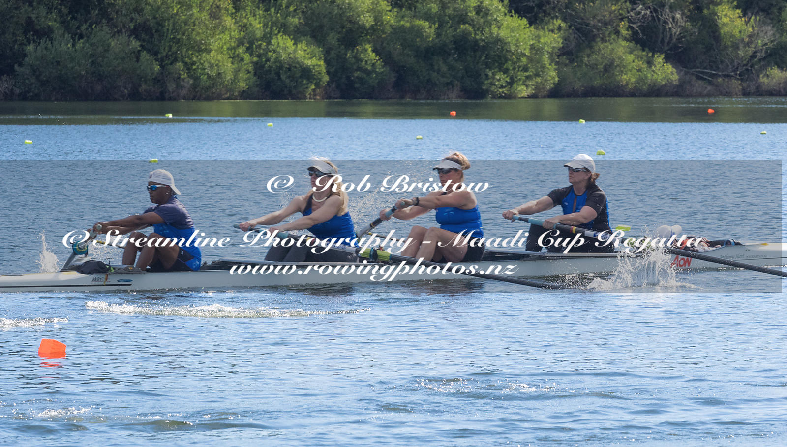 Taken during the World Masters Games - Rowing, Lake Karapiro, Cambridge, New Zealand; ©  Rob Bristow; Frame 439 - Taken on: T...