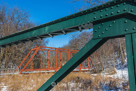 Bridges at Historic Bridge Park in Calhoun County near Battle Creek