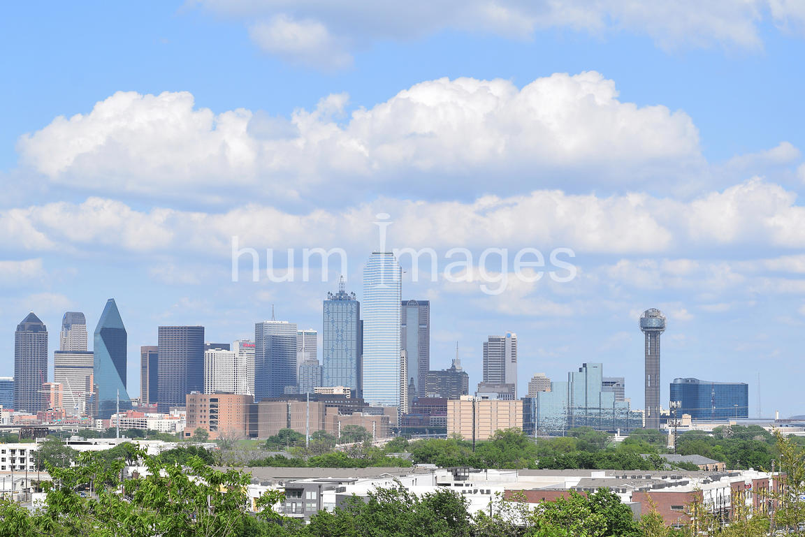 Dallas Stock Photos: Downtown Dallas Skyline