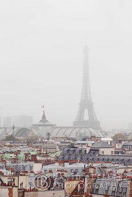 Paris in Fog