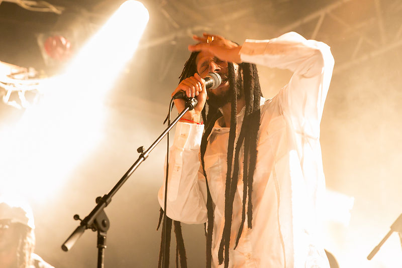 Julain marley at the barby club ,tel-aviv 9.8.2016