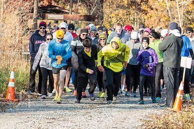 First Annual Ben Newell Memorial 5K, November 3, 2013