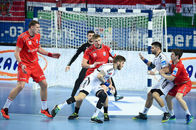 Dzimitry KAMYSHYK of MESHKOV BREST during the Final Tournament - Final Four - SEHA - Gazprom league, third place match, Varaz...