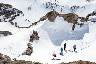 Faction skis - Spring Shooting Tignes