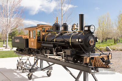 Ken Schroeder's new Sandy River #24 2-6-2 Prarie Locomotive