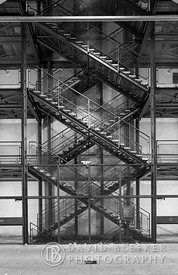 Fire Escape - Centre Pompidou