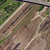 Railroad Tracks, Mannheim