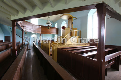 Interior of St Peter's Kirk (church), Sandwick, Bay of Skaill, West Mainland, Orkney