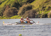 Taken during the World Masters Games - Rowing, Lake Karapiro, Cambridge, New Zealand; Tuesday April 25, 2017:   5790 -- 20170...