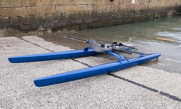 ROCAT proto-4 on Penzance harbour slipway