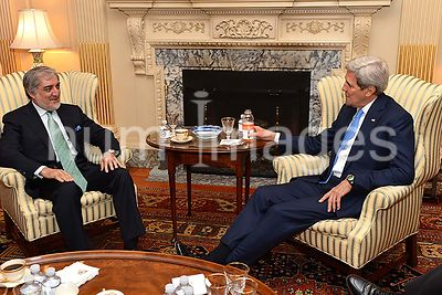 Secretary Kerry Meets With Afghan CEO Abdullah