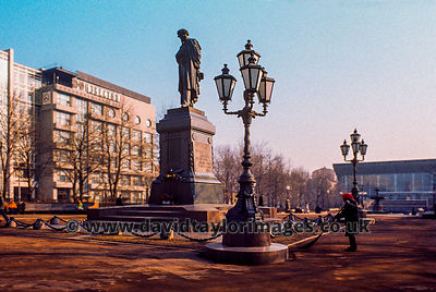 Pushkin Square  | Moscow | April 1976