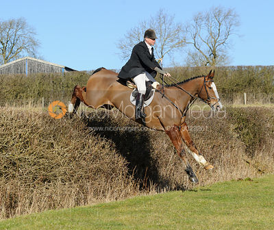The Cottesmore Hunt at Bleak House 17/2