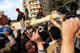 The Egyptian Revolution 2011