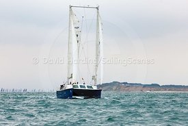 Ra, GBR765M, Moxley 12 catamaran, Round the Island Race 2017, 20170701043