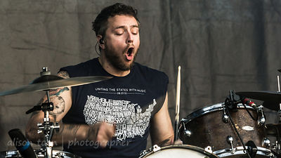 Josh Eppard, drums, Coheed and Cambria